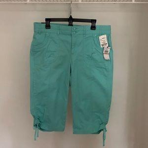 Aqua Capri Pants